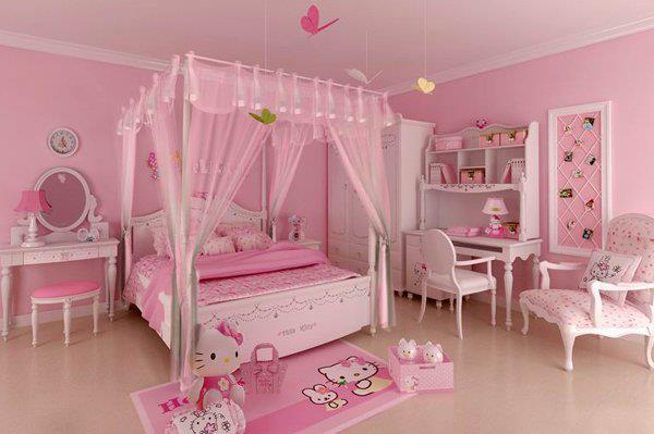 Gambar Bilik Tidur Hello Kitty Desainrumahid