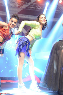 Sunny Leone Dancing on stage At Rogue Movie Audio Music Launch ~  109.JPG