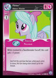 My Little Pony Flitter, Ribbon Wielder Premiere CCG Card