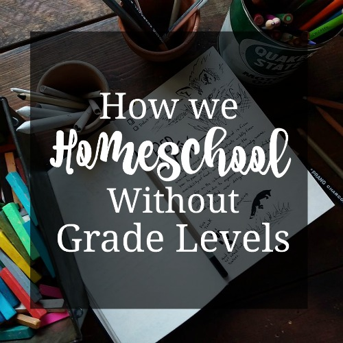 How we homeschool without grade levels