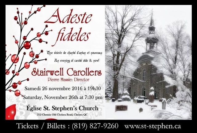 This years most beautiful poster from St. Stephens in Chelsea