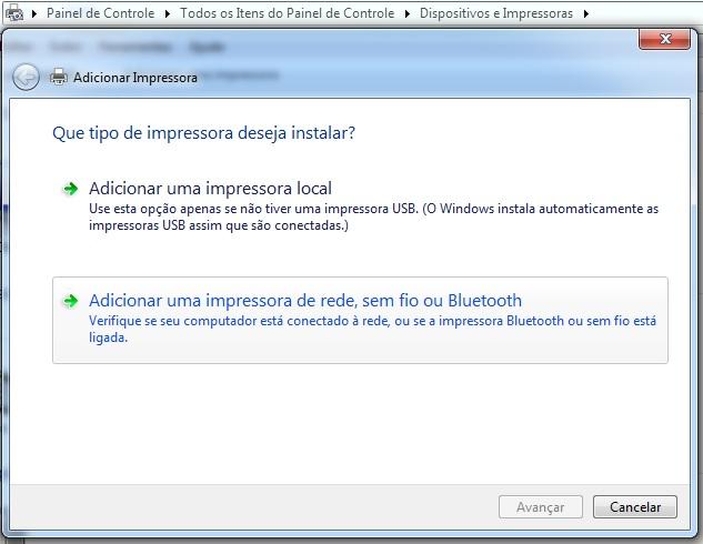 Adicionando impressora do Ubuntu no Windows