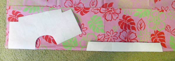 335296b81 Cut Structure One Sided Fusible Interfacing to go inside color. Iron in  place to WRONG SIDE of fabric according to manufacturer s instructions.