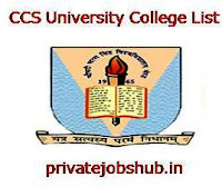 CCS University College List