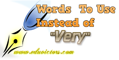 English Vocabulary - Word To use Instead of 'VERY' (#cbseNotes)(#EnglishVocabulary)