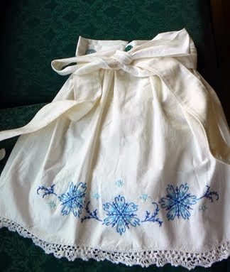 Pillowcase Apron with Towel Tutorial