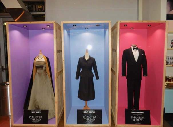Phantom Thread film costume exhibit