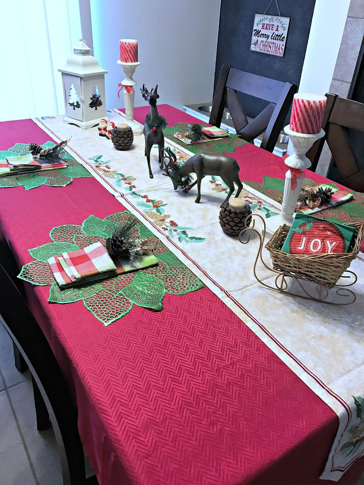Oriental Trading Christmas.Oriental Trading Christmas Table Makeover We Got The Funk