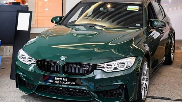 Special 2017 BMW M3 Heritage Collection Singapore Edition
