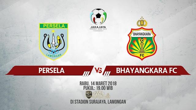 Prediksi Persela Lamongan Vs Bhayangkara FC, Rabu 14 Maret 2018 Pukul 19.00 WIB