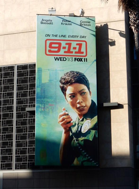 911 Angela Bassett billboard