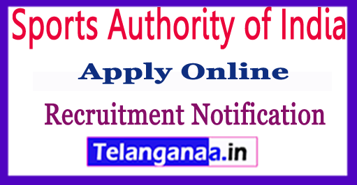 Sports Authority of India SAI Recruitment Notification 2017 Apply
