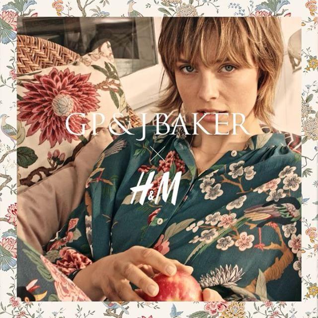 la collezione GP & J baker per H&M