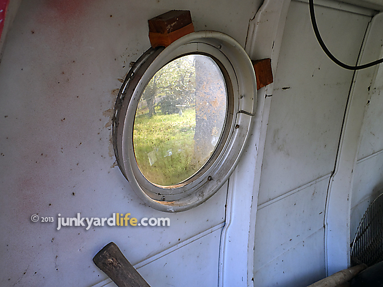 Money was made during this van customizing American obsession installing these small nautical style windows. Porthole windows weren't very functional-most of them didn't open.
