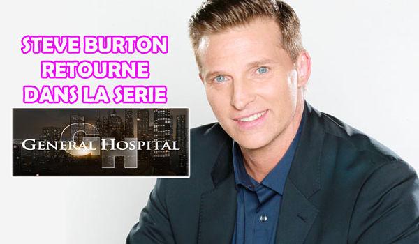 Steve Burton (#DylanMcAvoy | #YR) retourne dans la série #GeneralHospital