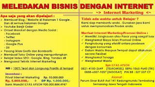 Promosi Online Gratis