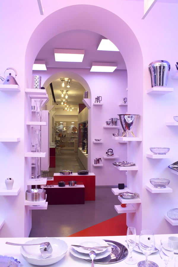 new list hot sale lower price with Homebuildlife: Alessi Opens New Flagship Store in Milan