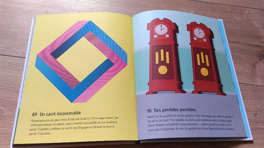 101 illusions d'optique Usborne