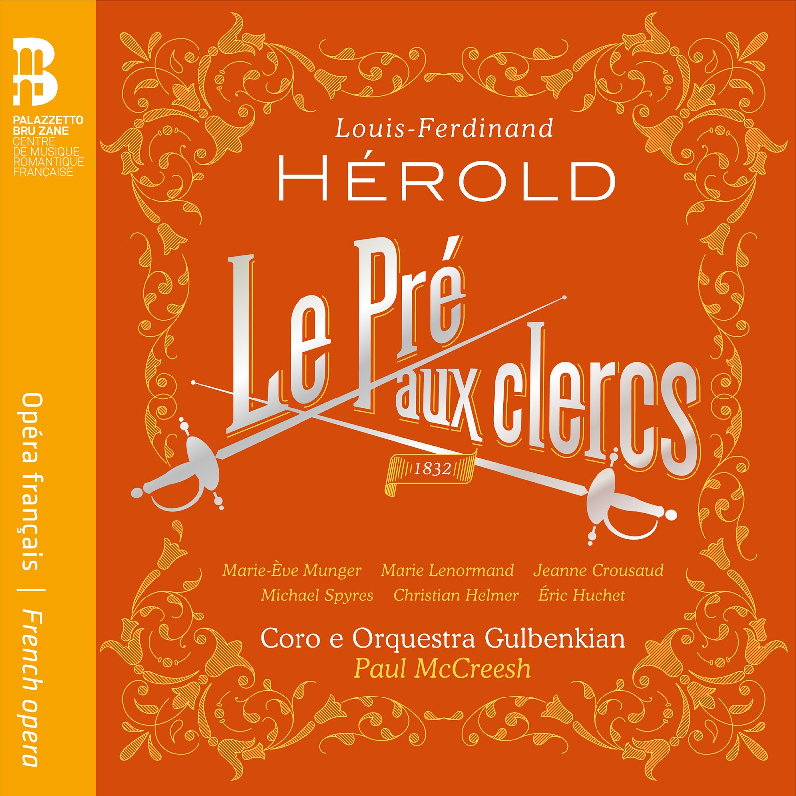 CD REVIEW: Louis-Ferdinand Hérold - LE PRÉ AUX CLERCS (Ediciones Singulares ES 1025)