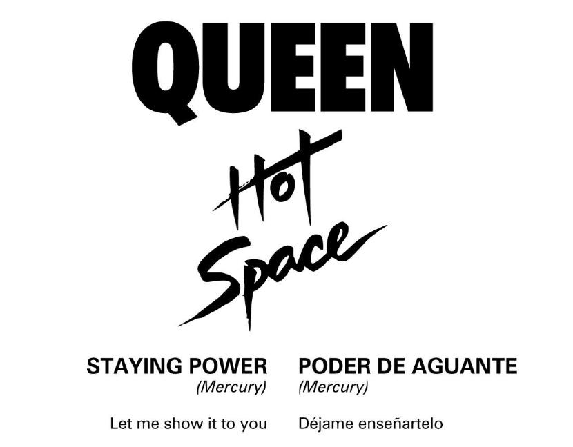 Letras Traducidas - Hot Space