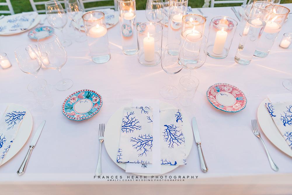 Wedding candle decoration
