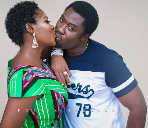 mercy johnson husband kissing