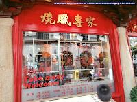 Escaparate de una tienda de China Town