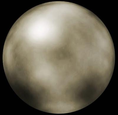 Imagen del planeta Plutón para niños