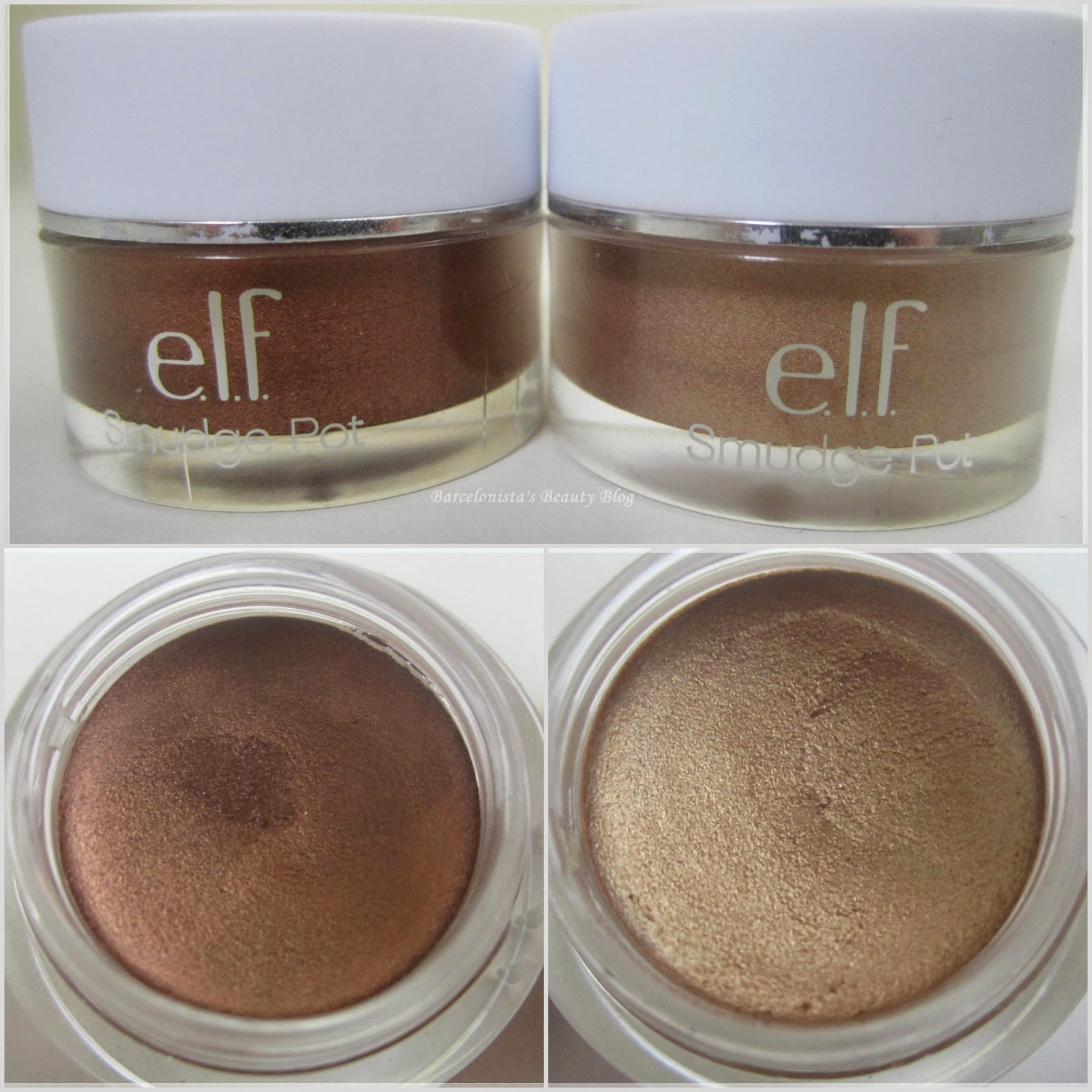 e.l.f. Smudge Pots: A Review ('Brownie Points' & 'Back To Basics')