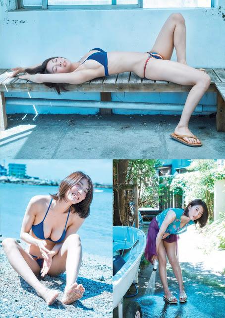 Mamoru Asana 護あさな Weekly Playboy 週刊プレイボーイ No 39-40 2016 Pics 2