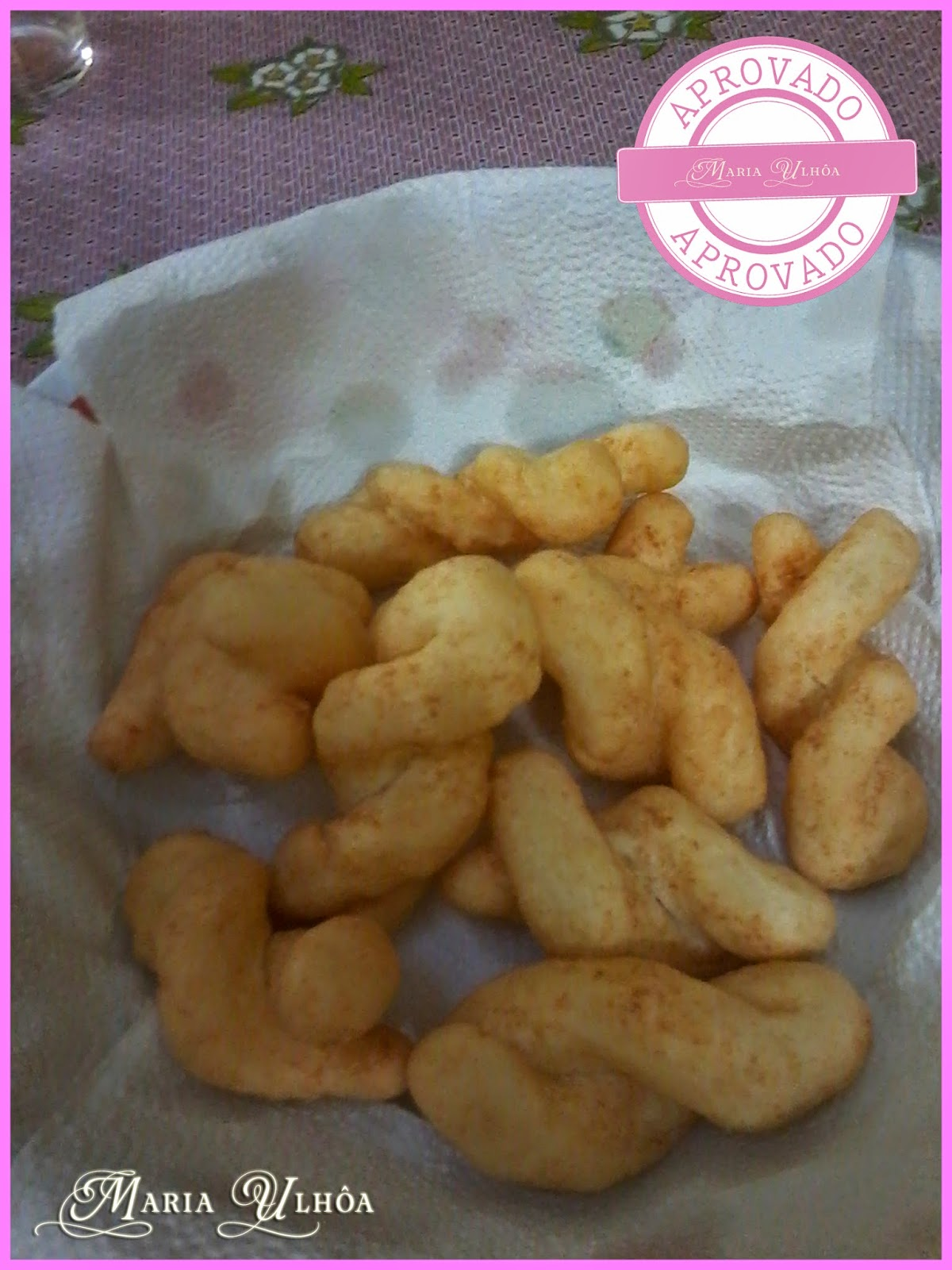 Receita - Biscoito Frito