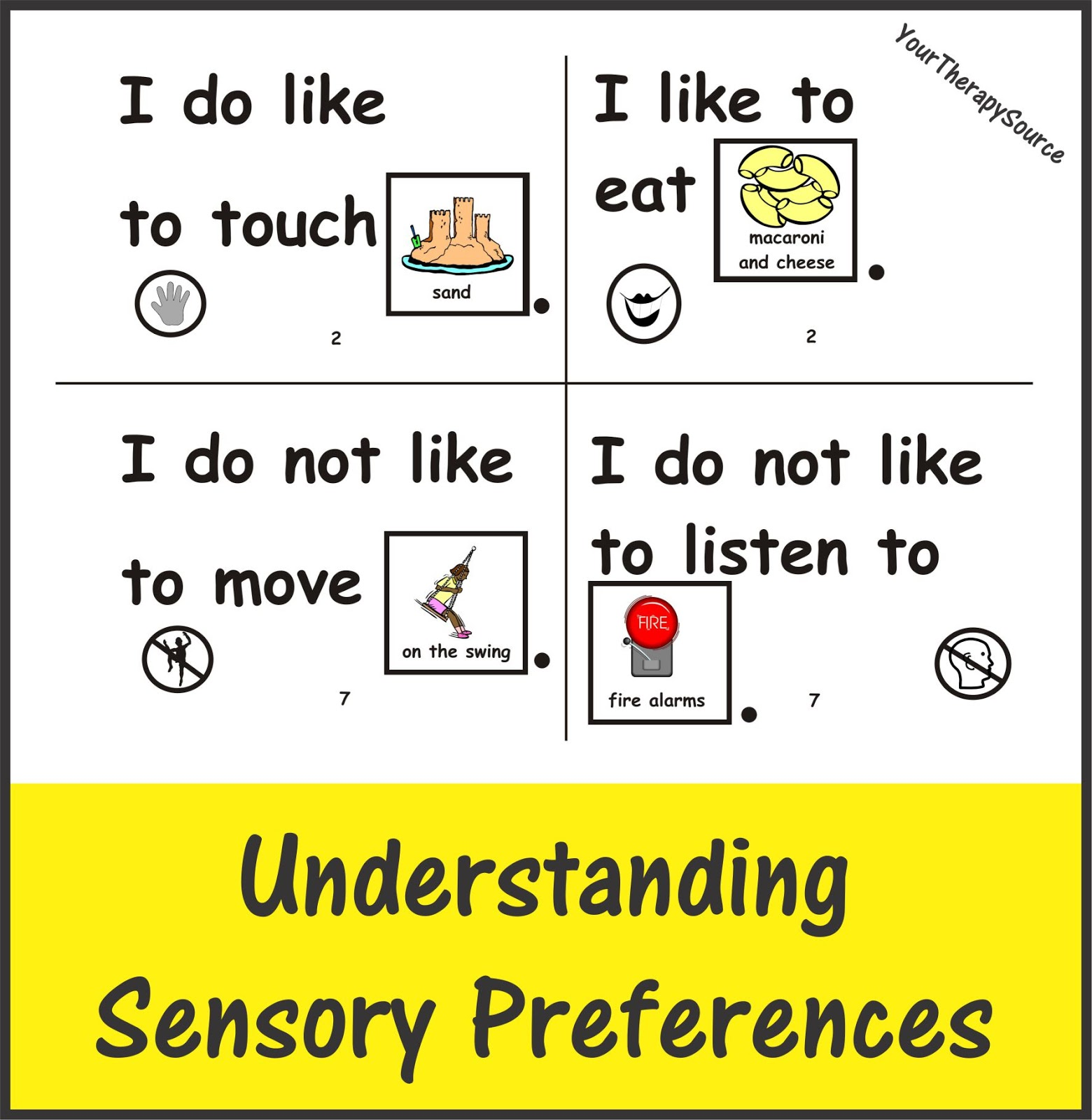 First Hand Accounts Of Sensory Preferences