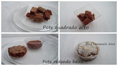 imagens de como fazer bolo no pote Caramelo doce