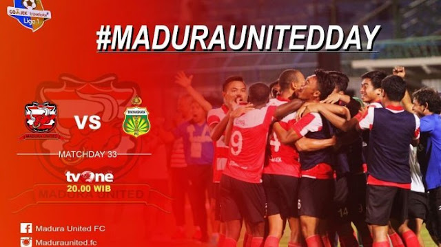 Madura United Tanpa Dukungan Suporter