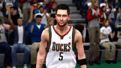NBA 2K13 J.J. Redick Cyberface Mods