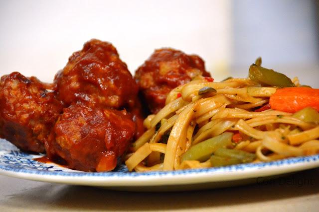 chicken meatballs קציצות עוף