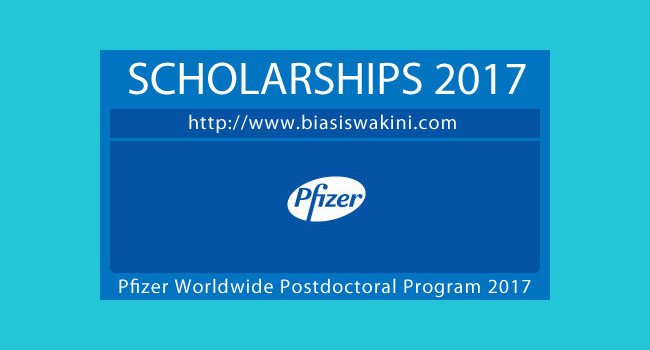 Pfizer Worldwide Postdoctoral Program 2017