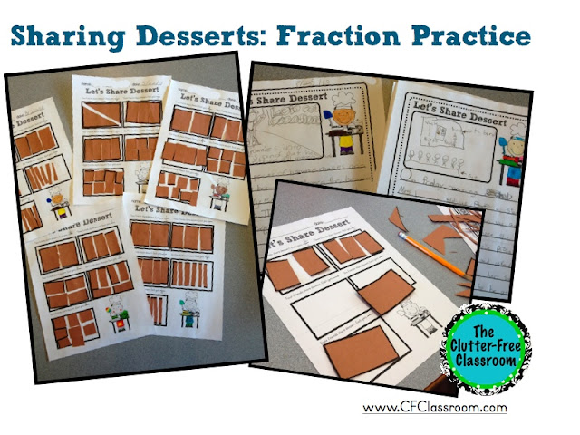 Fractions activities for 3rd grade (or even 2nd, 4th, or 5th) can be fun. Introducing and teaching a fractions unit is easy with these Clutter - Free worksheets and printables. Vocabulary, fraction strips, anchor charts and more are key to understanding fractions on a number line, ordering, comparing, reducing, decomposing, adding, subtracting, multiplying, and converting fractions to decimals on worksheets or in word problems.