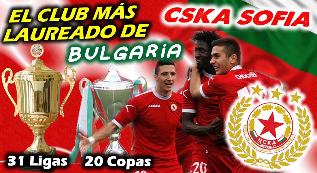 CSKA Sofia - El Club mas laureado de Bulgaria CSKA_Sofia--Miniatura
