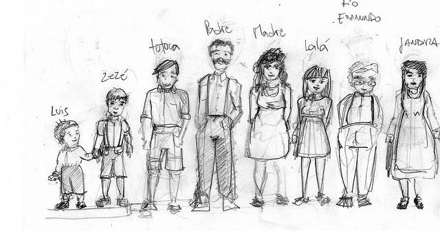 El espejo de la verdad: Personajes del libro