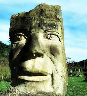A Grande Máscara - Jardim das Esculturas, Júlio de Castilhos (RS)