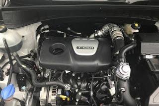 Động cơ Turbo Tucson GDI mạnh mẽ