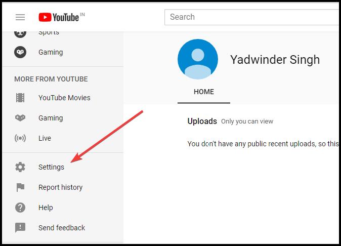 youtube-settings