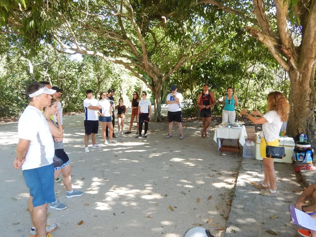 Festa de aniversário do Viajar correndo. Festa no Bosque da Barra