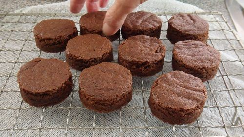 coco brownies