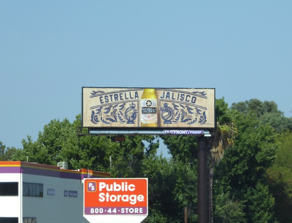 Estrella Jalisco Beer billboard 101 freeway