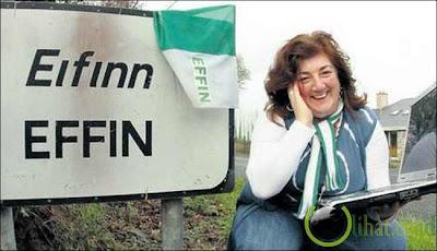 Foto dan nama kota di Irlandia