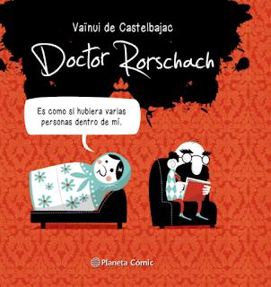 Doctor Rorschach de Vaïnui de Castelbajac comic bd viñetas