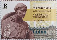 V CENTENARIO DEL FALLECIMIENTO  DEL CARDENAL CISNEROS 1517-2017