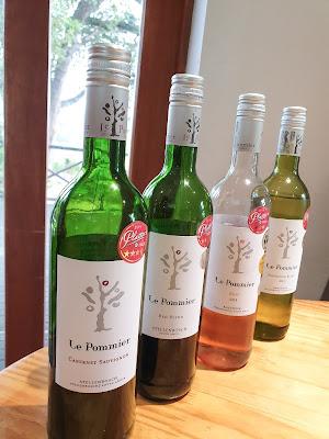 Le Pommier Wine Tasting